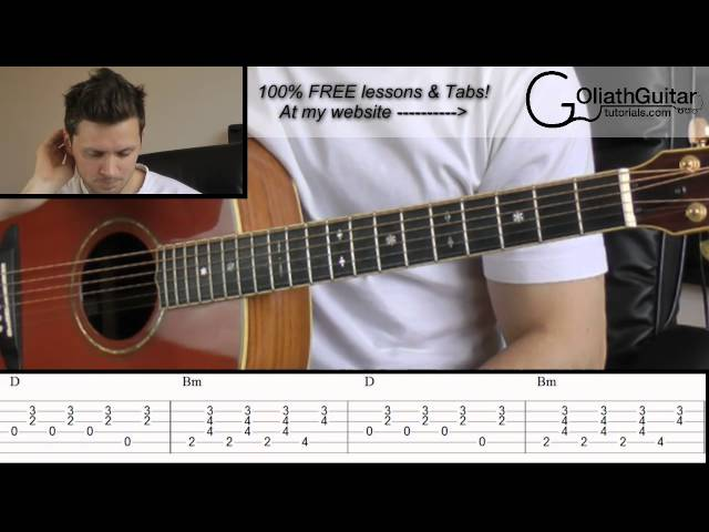 Hey There Delilah - Plain White T\'s - Guitar Lesson & Tabs