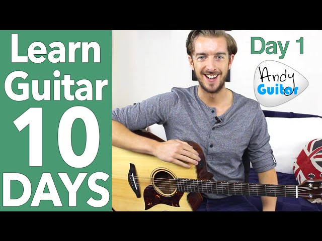 Guitar Lesson 1 – Absolute Beginner? Start Here! [Free 10 Day Starter Course]