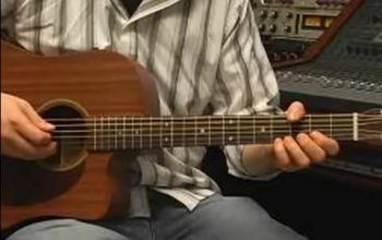 How To Tune A Guitar : Open D Tuning For Guitar