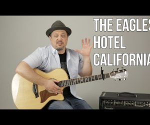 How To Play 'Hotel California' (EASY) By The Eagles On Guitar – Easy Acoustic Songs For Guitar
