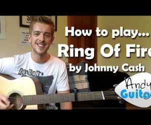 Johnny Cash Ring Of Fire EASY Guitar Lesson Tutorial