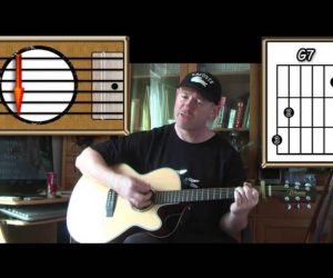 Across The Universe – The Beatles – Acoustic Guitar Lesson (easy-ish)
