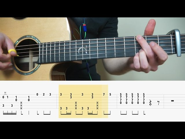 Alan Walker – Alone – Fingerstyle Guitar TABS Tutorial (Lesson)| Mattias Krantz